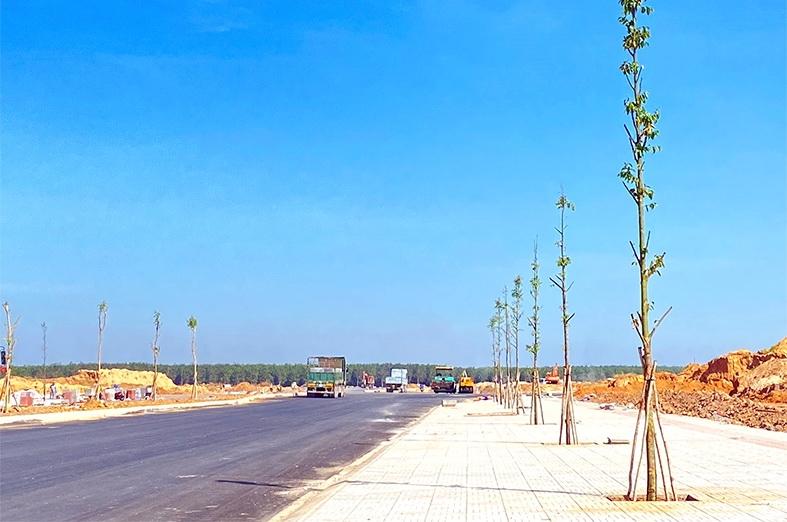 Khu dân cư tái định cư Cảng hàng không Quốc tế Long Thành: Phần lớn các gói thầu hạ tầng cơ bản hoàn thành
