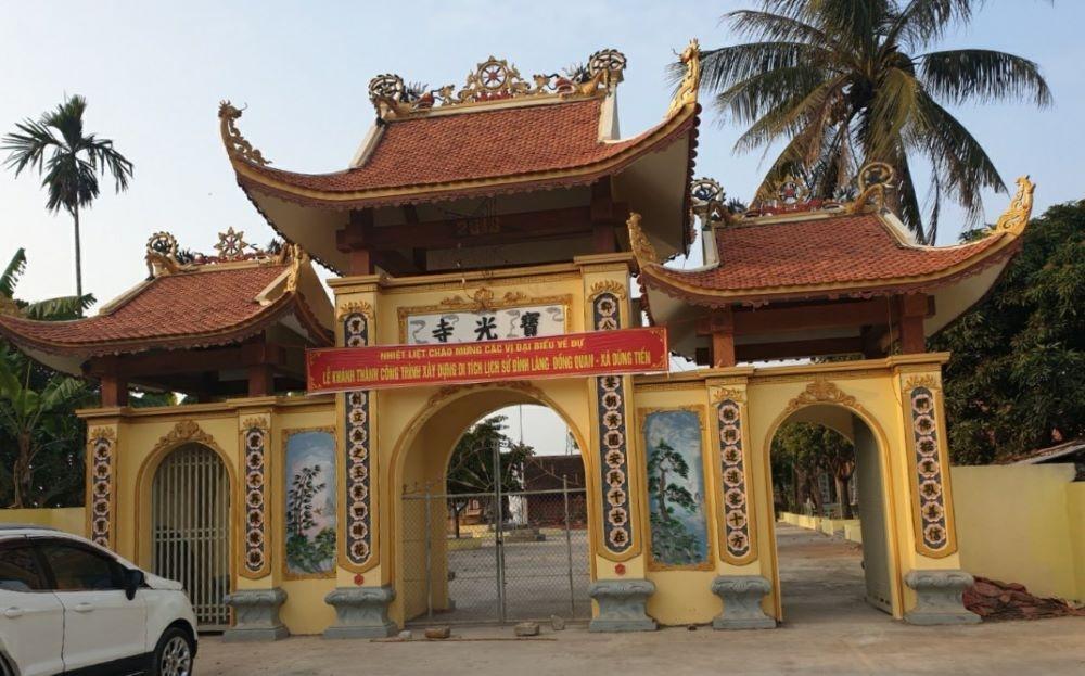 Xã Dũng Tiến, Huyện Vĩnh Bảo (Thành Phố Hải Phòng): Thơm thảo tấm lòng vàng xây dựng lại Di tích lịch sử văn hoá quê hương