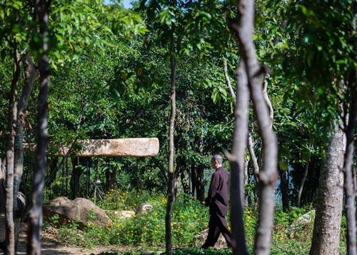 Kiến Trúc Mái Đá Giữa Công Viên Nha Trang Được Công Ty A21studio Thiết Kế  Nhằm Tạo Dựng Nơi Tu Thiền Yêu Tĩnh, Gần Gũi Với Thiên Nhiên Cho Giới Phật  Tử.