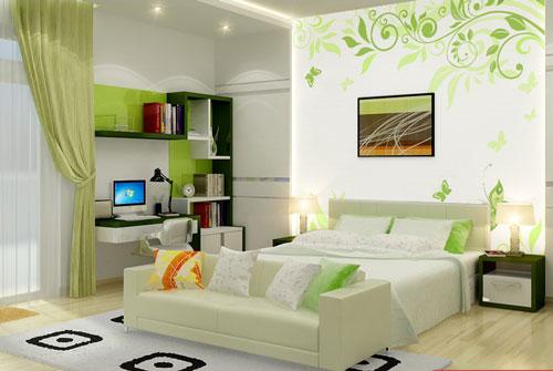 155730baoxaydung image003 Thiết kế biến tấu cho phòng ngủ nhà phố thêm ấn tượng và tiện nghi