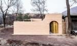 Thiết kế hang động đổ nát trở thành ngôi nhà hiện đại