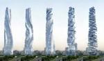 Tòa nhà chọc trời xoay 360 độ ở Dubai