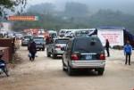 Hà Nội công bố kết quả xác minh xe biển xanh đi lễ hội
