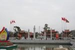 Khu tưởng niệm đồng chí Nguyễn Đức Cảnh thu hút hàng vạn du khách dịp đầu năm