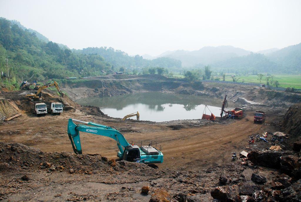 Góp ý bổ sung khu vực phân tán nhỏ lẻ vào quy hoạch khoáng sản