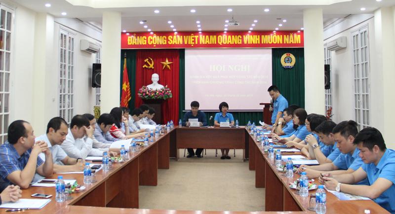 Tổng kết công tác phối hợp giữa Cục Giám định và Công đoàn Xây dựng Việt Nam