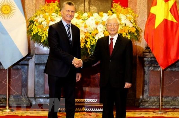 Toàn văn thông cáo chung giữa hai nước Việt Nam và Argentina