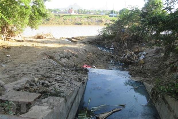 Nhiều khó khăn trong xử lý nước thải tại các làng nghề