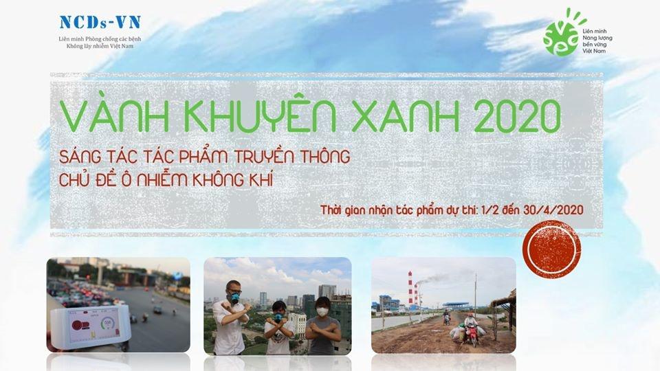 Cuộc thi sáng tác tác phẩm truyền thông về chủ đề ô nhiễm không khí