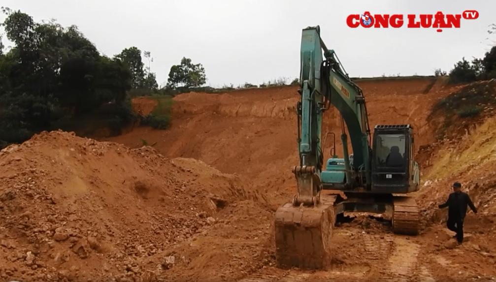 """Tân Sơn (Phú Thọ): Có hay không việc chính quyền """"giơ cao đánh khẽ"""" các đối tượng khai thác khoáng sản trái phép?"""