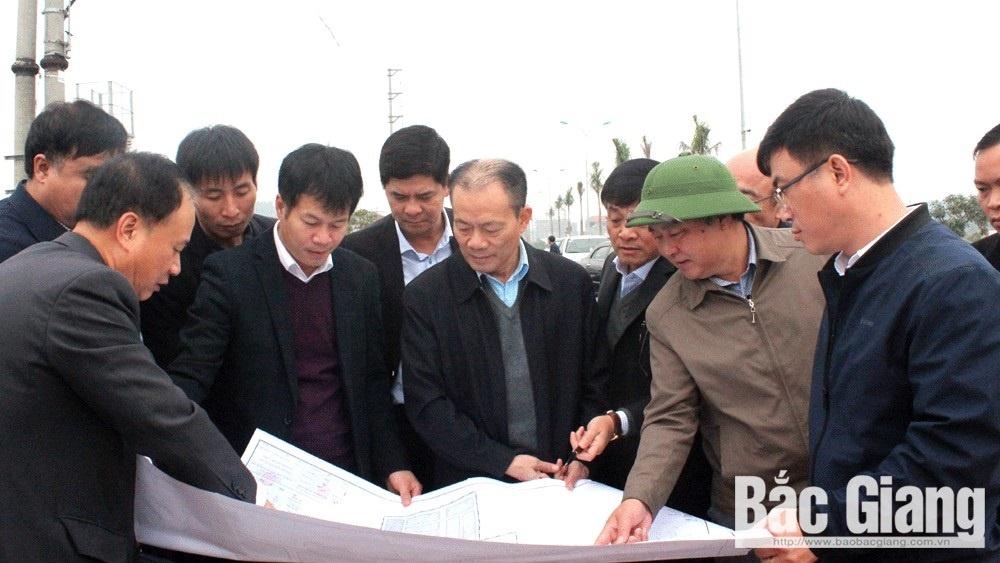 Bắc Giang: Phó Chủ tịch tỉnh yêu cầu đẩy nhanh tiến độ giải phóng mặt bằng dự án Khu đô thị An Huy