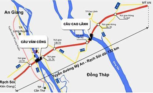 cao toc phia tay dong bang mekong thong tuyen cuoi thang 9