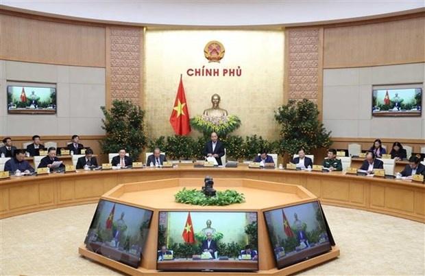 Nghị quyết Phiên họp Chính phủ thường kỳ tháng 1 năm 2020