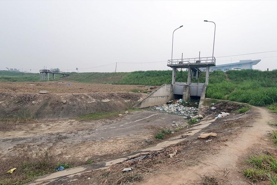 Vay 258 tỉ đồng xây trạm tiêu nước rồi đặt ở chỗ quanh năm không ngập úng