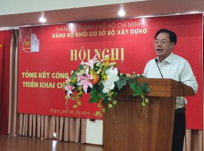 Đảng ủy Khối cơ sở Bộ Xây dựng triển khai chương trình công tác năm 2020