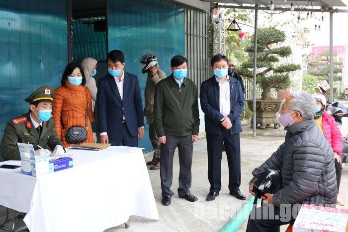 Bắc Ninh: Chỉ đạo đảm bảo hàng hóa thiết yếu để ứng phó với dịch bệnh