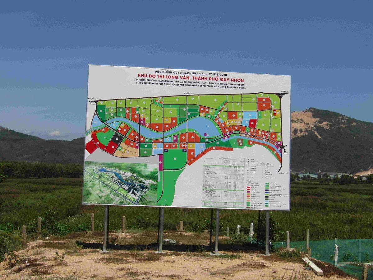 Bình Định: Chấp thuận chủ trương đầu tư Khu đô thị Long Vân 2