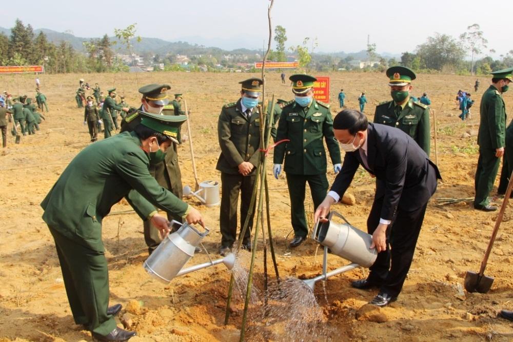 """Quảng Ninh: Phát động Tết trồng cây """"Đời đời nhớ ơn Bác Hồ"""" Xuân Tân Sửu"""