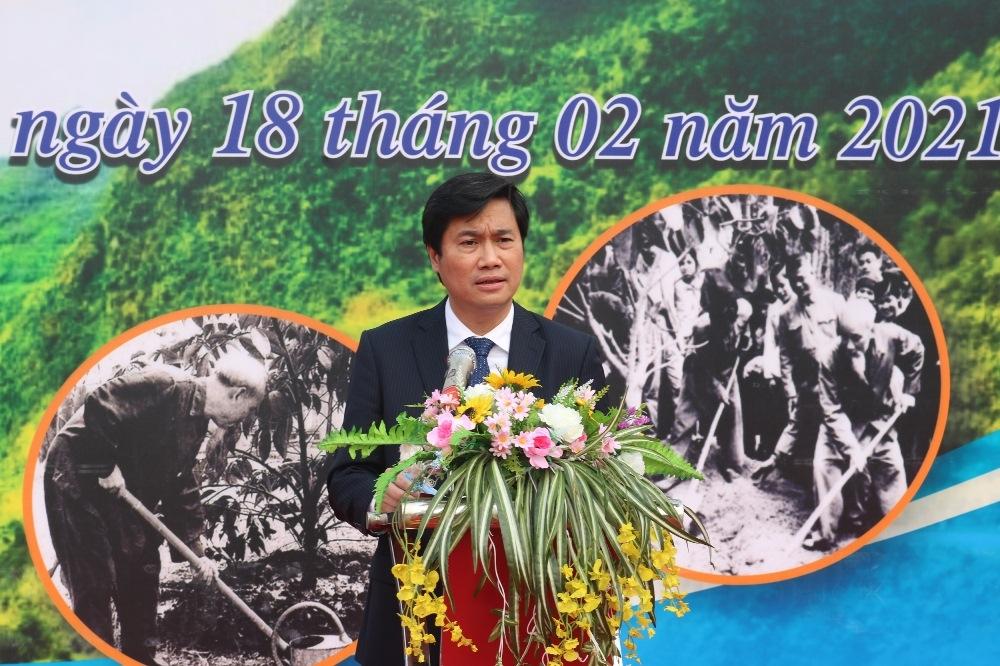 Quảng Ninh: Ngày đầu ra quân trồng cây Xuân Tân Sửu trồng được 18ha rừng