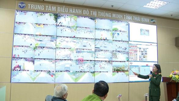 """Thái Bình: Sẽ phạt """"nguội"""" qua hệ thống camera giám sát thông minh"""