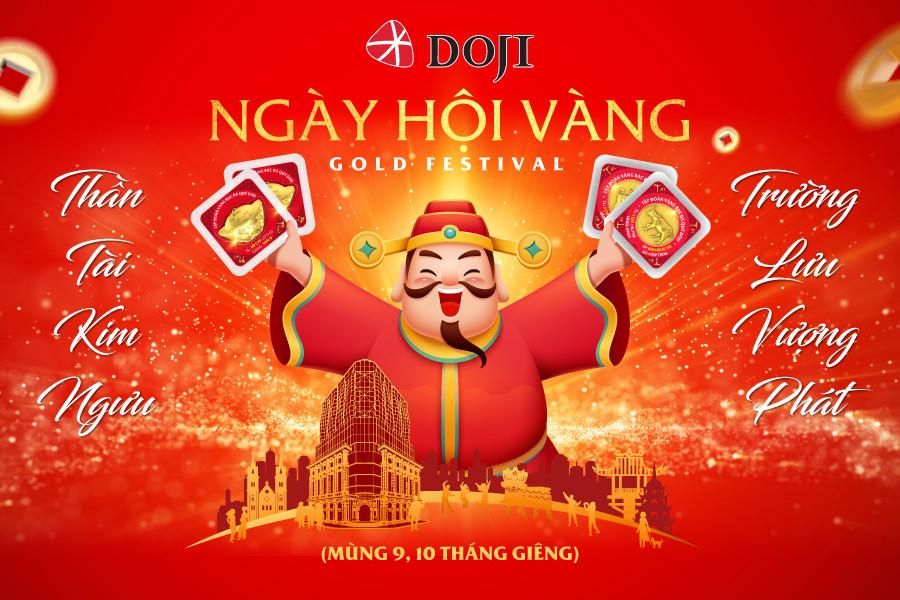 tap doan doji san sang cho ngay hoi vang gold festival 2021