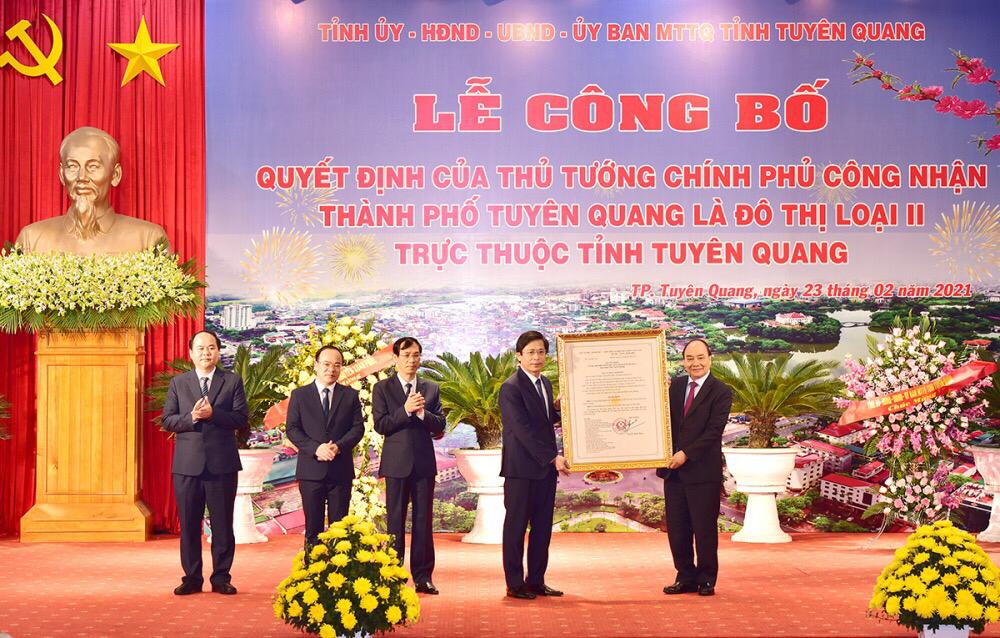 Thành phố Tuyên Quang cần phát huy vai trò đô thị động lực trong vùng