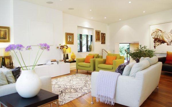 3 Thiết kế không gian nhà nổi bật với 6 gam màu thời trang