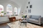 Thiết kế phòng khách nhỏ thanh lịch theo phong cách Bắc Âu