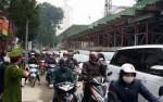 Lo ngại phương tiện đâm vào đà giáo thi công tuyến Cát Linh- Hà Đông