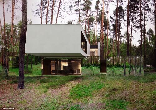 152432baoxaydung 32 Thiam quan ngôi nhà gương tuyệt đẹp ẩn mình trong rừng