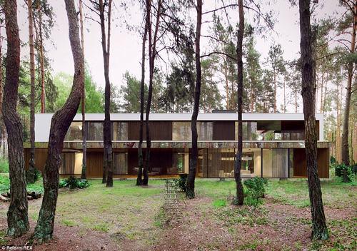 152434baoxaydung 34 Thiam quan ngôi nhà gương tuyệt đẹp ẩn mình trong rừng