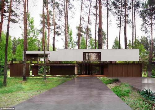 152436baoxaydung 35 Thiam quan ngôi nhà gương tuyệt đẹp ẩn mình trong rừng