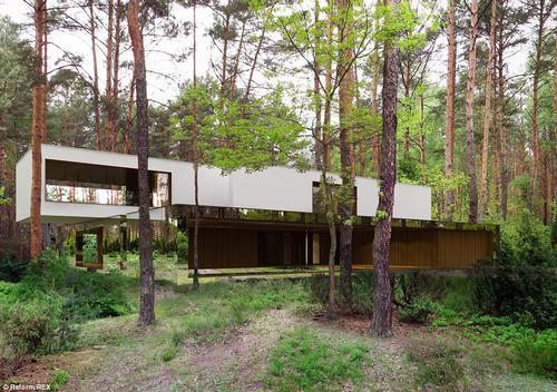 152438baoxaydung 37 Thiam quan ngôi nhà gương tuyệt đẹp ẩn mình trong rừng