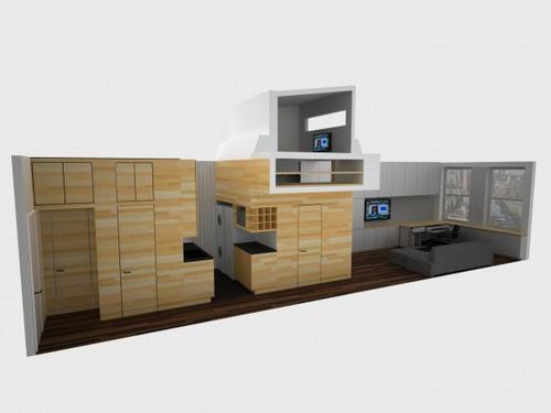 Thiết kế tuyệt vời cho căn hộ có diện tích nhỏ