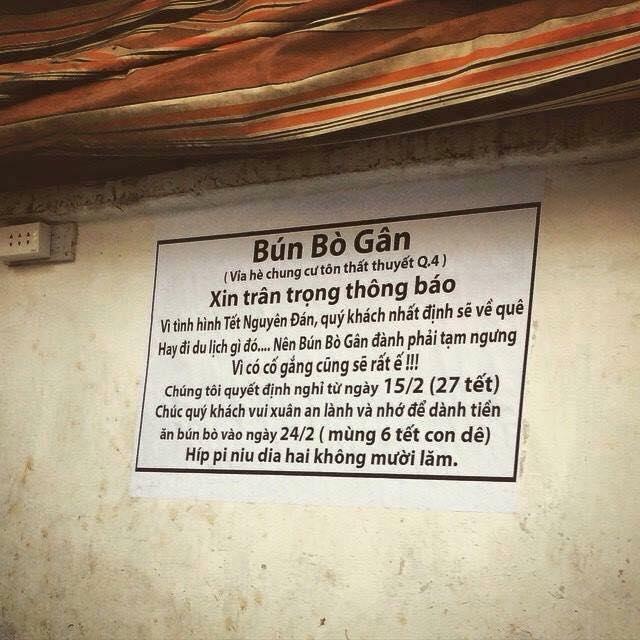 Chủ quán bá đạo, cấm khách lắm lời, cấm đưa chuyện lên Facebook - TRƯỜNG  THPT LỘC PHÁT