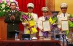 Công bố quyết định của Chủ tịch nước thăng cấp bậc hàm cấp Tướng CAND