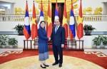 Ưu tiên cao việc giữ gìn quan hệ đoàn kết đặc biệt Việt- Lào