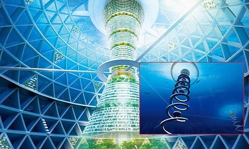 Nhật thiết kế thành phố dưới nước có sức chứa 5.000 người