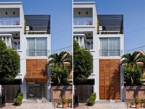 Những giải pháp cho nhà có mặt tiền hẹp