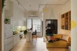 Vợ chồng trẻ cải tạo căn hộ chật hẹp trở nên rộng rãi hơn