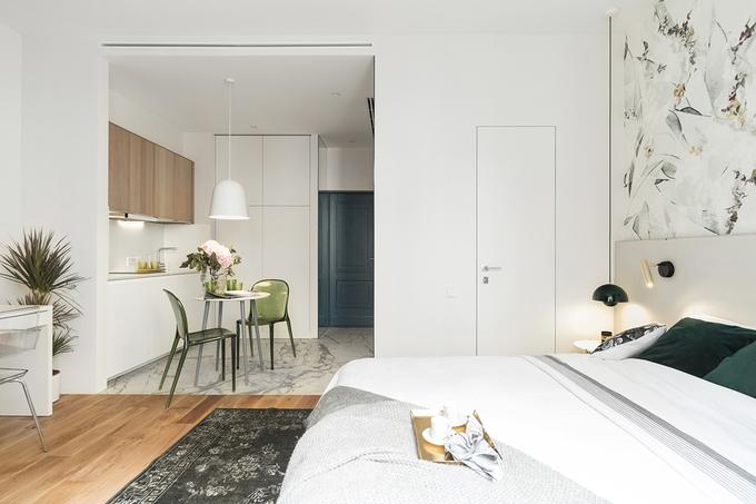 Căn hộ 28 m2 tuyệt vời cho vợ chồng mới cưới