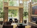 Cách làm đẹp ngôi nhà bằng đá tự nhiên