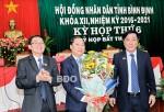 Phê chuẩn Phó Chủ tịch UBND tỉnh Bình Định