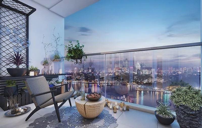 Ý tưởng trang trí ban công chung cư vừa đẹp vừa an toàn