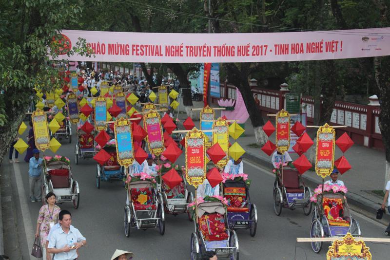 Nâng tầm Festival Nghề truyền thống Huế