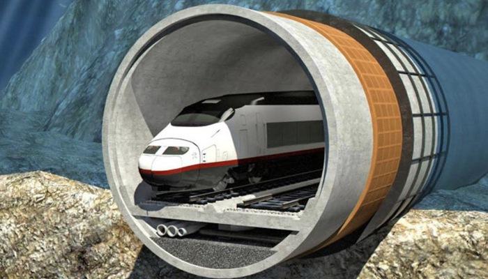 Công ty Trung Quốc rót vốn cho hầm đường sắt xuyên biển dài nhất thế giới