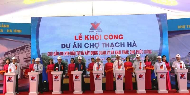 Hà Tĩnh: Gần 120 tỷ đồng xây dựng chợ Thạch Hà