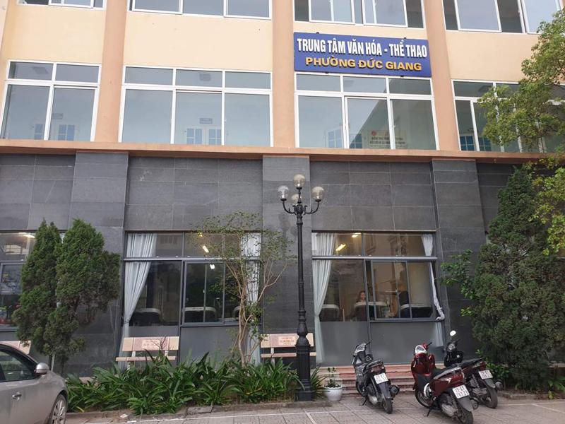 """Long Biên (Hà Nội): Trung tâm văn hóa – thể thao phường Đức Giang có bị """"xẻ thịt"""" để cho thuê?"""