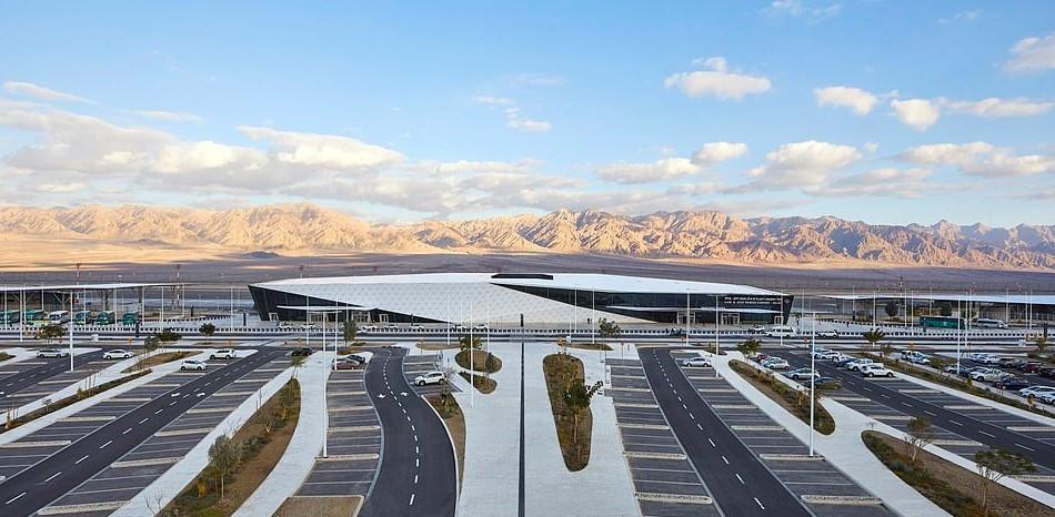 Sân bay trăm triệu USD, có hàng rào chống tên lửa ở Israel