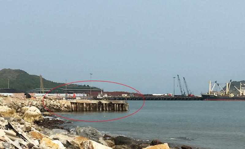 Quảng Bình: Làm rõ việc khu cảng 45 tỷ đồng vừa thi công, vừa khai thác
